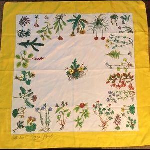 "Vintage Flora Scandinavia scarf 28"" x 28"""